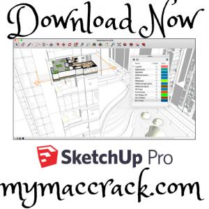 SketchUp Pro v20.1.228 Mac OS Full Crack