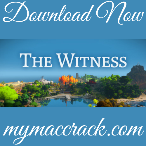 THE WITNESS MAC GAME FREE DOWNLOAD