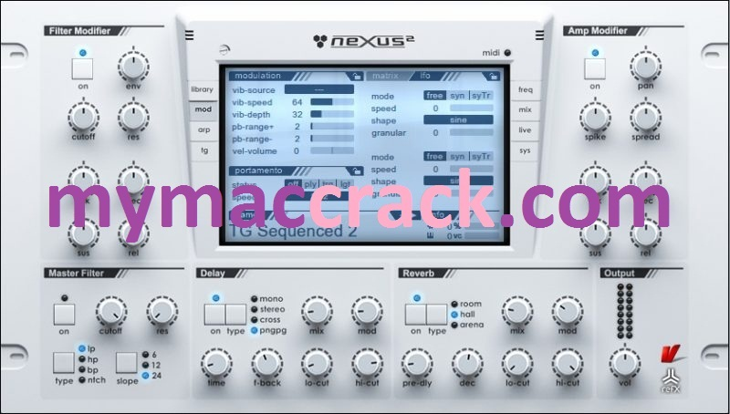 reFX Nexus (Mac) Crack with Torrent Free Download