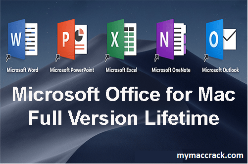 Microsoft Office 2019 for Mac 16.50 Crack FREE Download